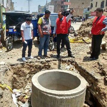 Contraloría advierten riesgos en instalación del sistema de agua y saneamiento en Marcona – Ica