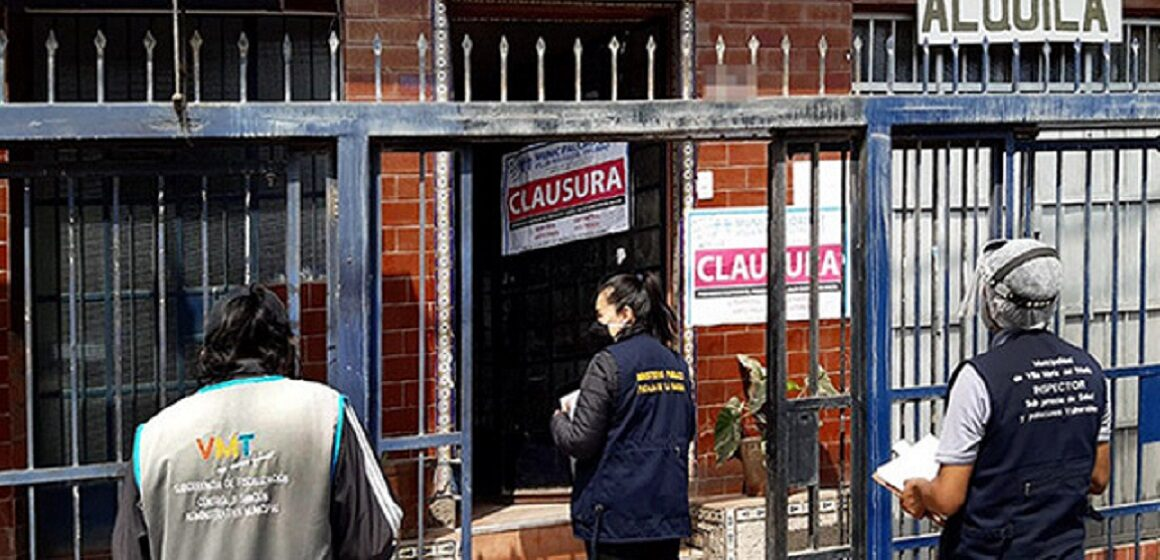 Fiscalía inspecciona hostales y hospedajes en Villa María del Triunfo