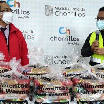 Midis Qali Warma entrega cerca de 29 toneladas de alimentos a municipalidades de La Victoria y Chorrillos