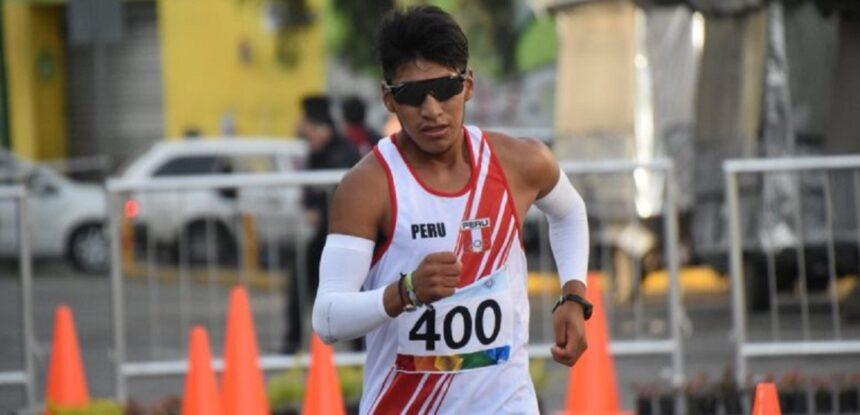 Luis Henry Campos espera estar entre los 15 mejores en marcha atlética en Tokio 2020