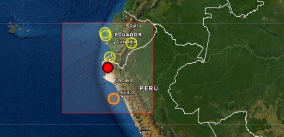 Sismo de magnitud 6.1 sacudió el distrito de Sullana en el departamento de Piura
