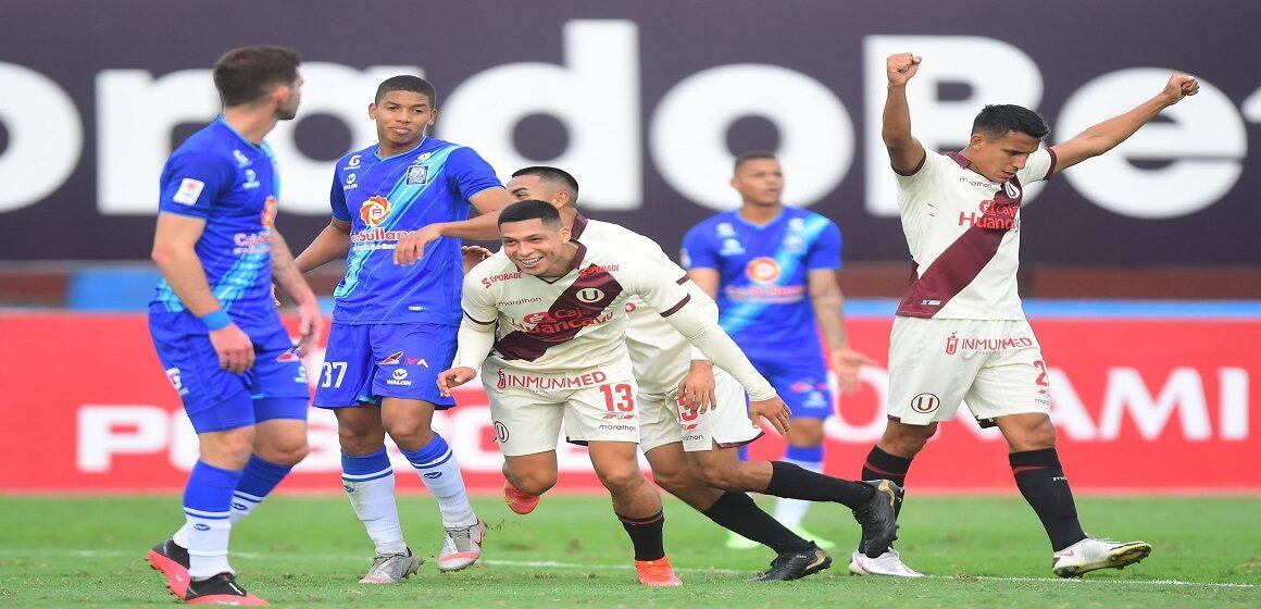 Universitario rescató un angustioso empate por 2-2 ante Alianza Atlético sobre el final