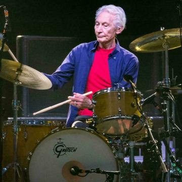 Fallece Charlie Watts, legendario baterista de los Rolling Stones
