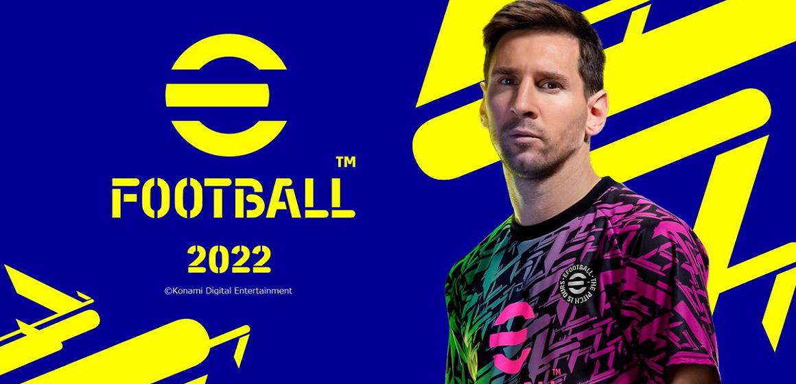 Konami confirma fecha de lanzamiento del eFootball 2022
