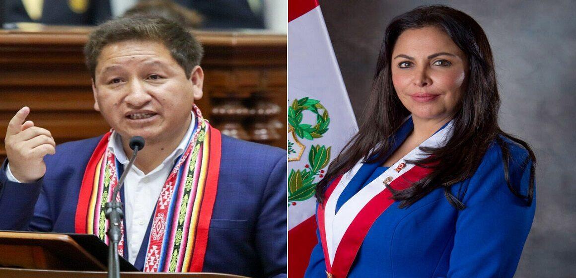 Guido Bellido envió carta notarial a Patricia Chirinos exigiéndole una rectificación