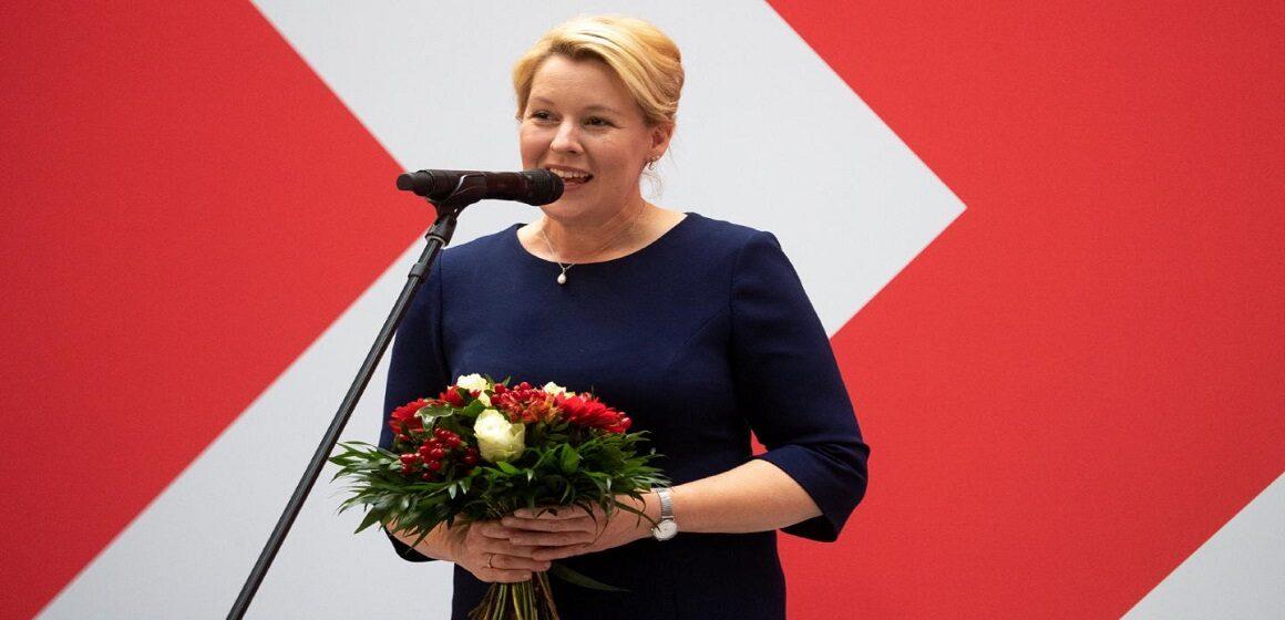 La socialdemócrata Franziska Giffey será la primera mujer alcaldesa de Berlín