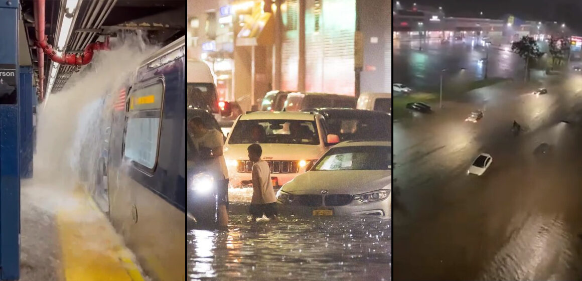 Nueva York: diluvio provoca fuertes inundaciones y decretan estado de emergencia