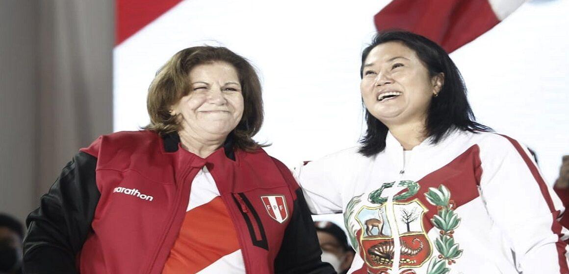 Keiko Fujimori aseguró que Lourdes Flores no será candidata a la alcaldía de Lima