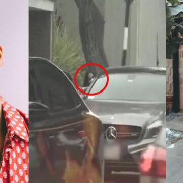 'Amor y Fuego': ampayan a Luciana Fuster ingresando al auto de Patricio Parodi
