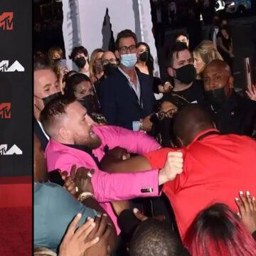 Megan Fox, Machine Gun Kelly y McGregor protagonizan altercado en los MTV VMA's 2021