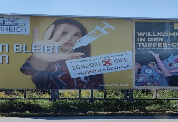 Los antivacunas sorprendieron y consiguieron representación parlamentaria en Austria