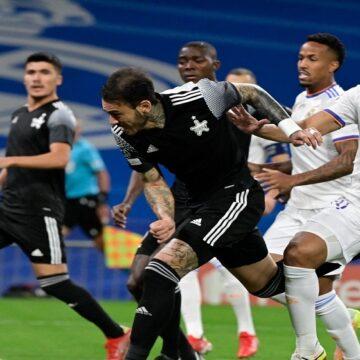 Sheriff Tiraspol hizo historia y se impuso al Real Madrid por 1-2 con Gustavo Dulanto de titular