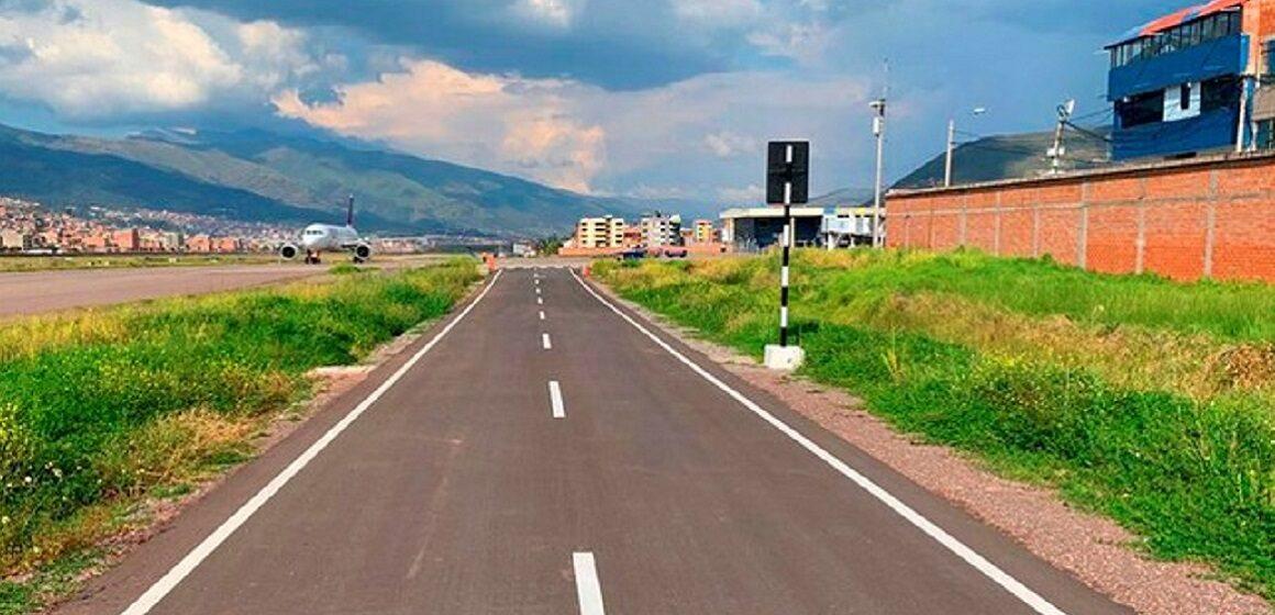 Corpac concluyó la construcción del cerco en el aeropuerto del Cusco