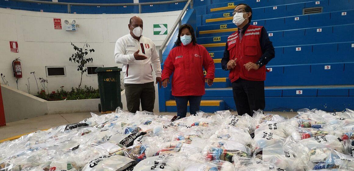 Midis entregó 18 toneladas de alimentos nutritivos a la Municipalidad de Pachacámac