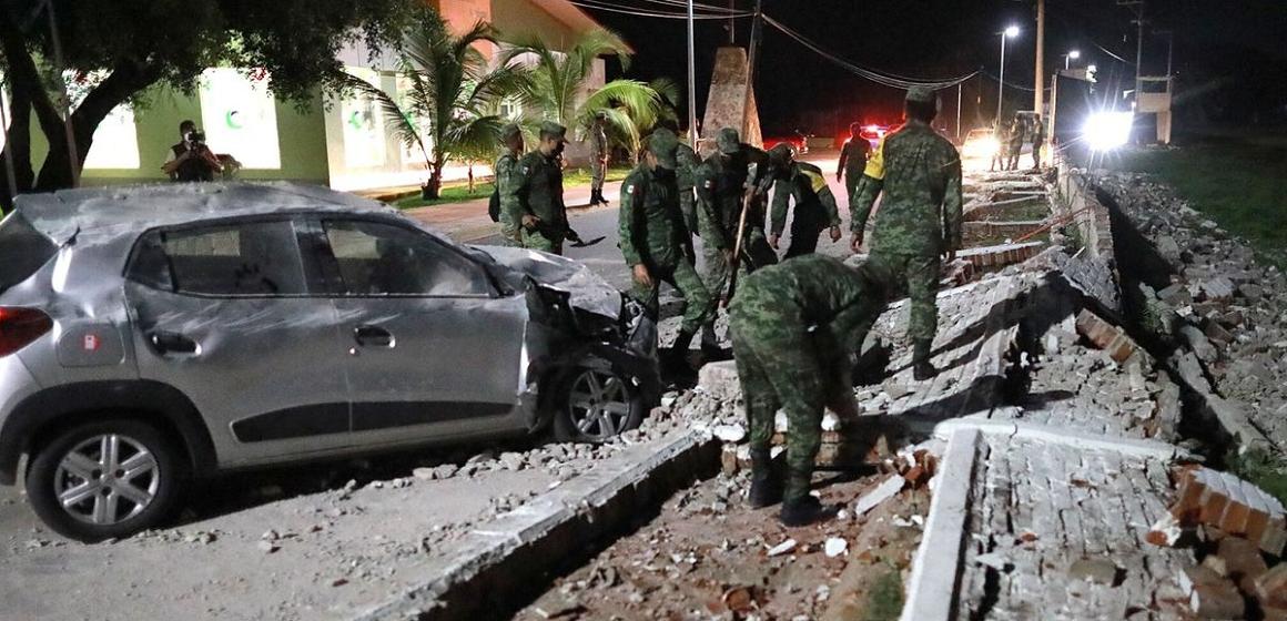 Sismo de magnitud 7.1 sacude la costa de México