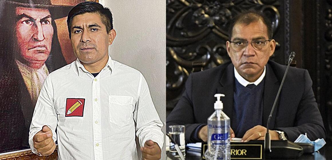 Parlamentario de Perú Libre asegura que su bancada no propuso a Barranzuela como ministro del Interior
