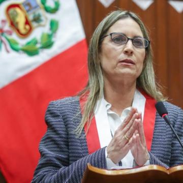 María del Carmen Alva negó haber coordinado reunión con Mirtha Vásquez