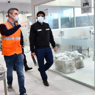 """Ministro Carrasco inspecciono nuevo hospital de la Policía Nacional """"Luis N Sáenz"""""""