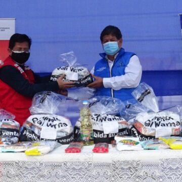 Midis Qali Warma entrega más de 28 toneladas de alimentos a municipalidades de La Victoria Y Chorrillos