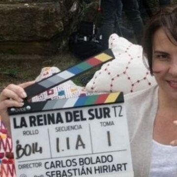 Kate del Castillo feliz de llegar al Peru para grabar popular serie