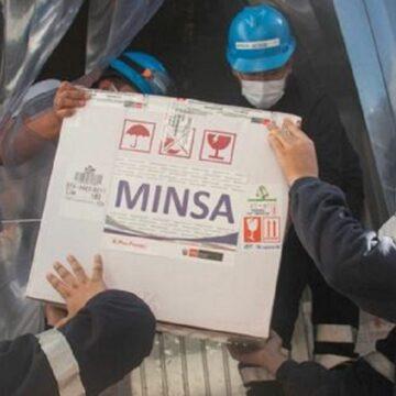 Minsa distribuye 634 000 dosis de la vacuna contra la COVID-19 en todo el Peru