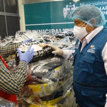 Midis Qali Warma entrega cerca de 53 toneladas de alimentos a municipalidades de Villa El Salvador y Villa María del Triunfo
