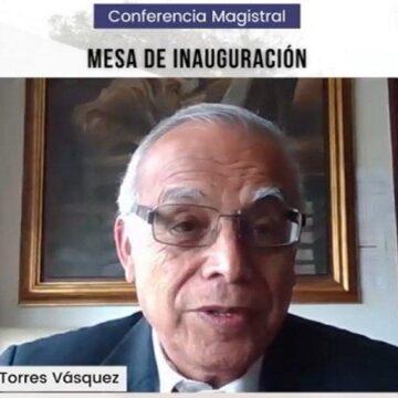 """Ministros Torres """"Si no combatimos la corrupción no habrá desarrollo en ninguna actividad política"""""""