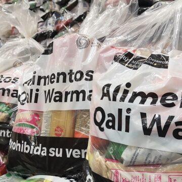 Municipalidades de Ventanilla y Comas reciben cerca de 98 toneladas de alimentos del Midis a través de Qali Warma