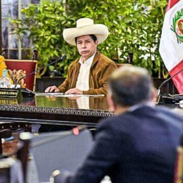Presidente Castillo lidera nueva sesión del Consejo de Ministros