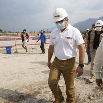 Ministro Geiner Alvarado visita a la región San Martín para iniciar obras de mejoramiento de barrios