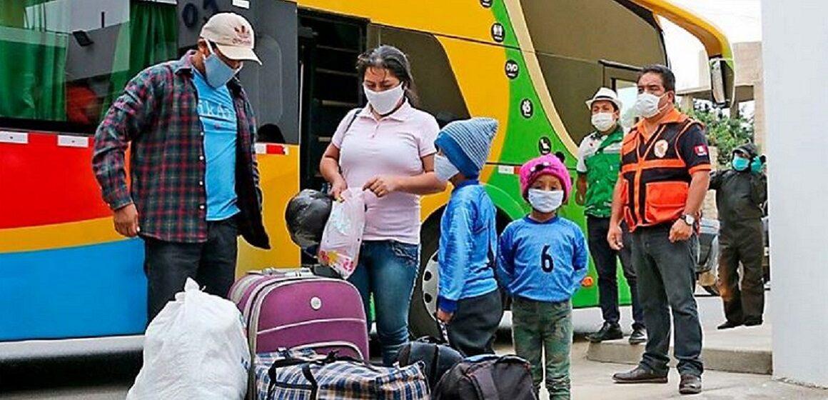 Transporte interprovincial terrestre operara al 100% en todo el país