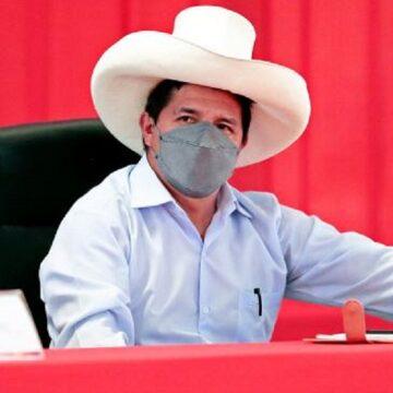 Pedro Castillo afirmó que acudirán al Congreso para sustentar el presupuesto 2022