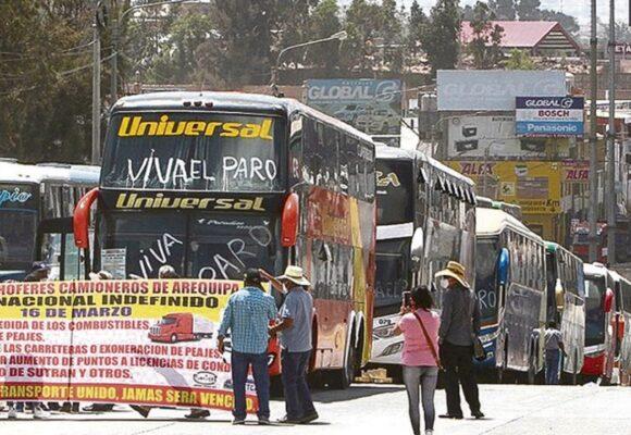 MTC se reunirá con transportistas para evitar el paro nacional