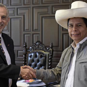 Presidente Castillo convoco a Ministro Francke para buscar soluciones en favor de la economía familiar
