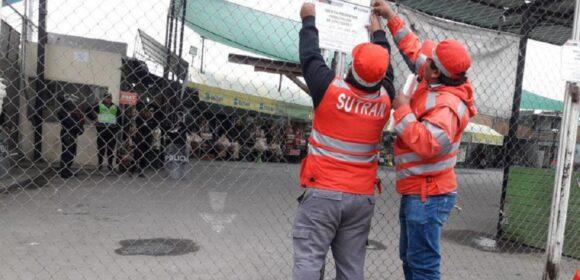 SUTRAN clausura terminal La Joya del Sur en Arequipa por no cumplir medidas de bioseguridad