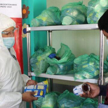 MIDIS a través de Qali Warma entregó más de 136 mil toneladas de alimentos en el ámbito nacional
