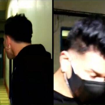 Tomate Barraza y su exesposa se pelean en los pasillos de ATV